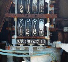 Petrol Pump Sticker