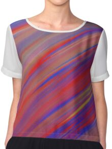 Fun Abstract Art 7 Chiffon Top