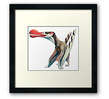 Ornithocheirus  Framed Print