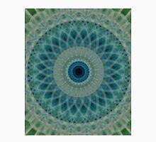 Mandala in greens and blues Unisex T-Shirt