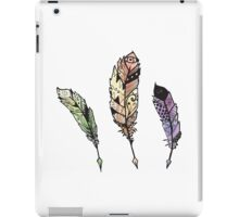 Watercolor Quill design iPad Case/Skin