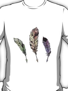 Watercolor Quill design T-Shirt