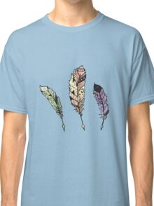 Watercolor Quill design Classic T-Shirt