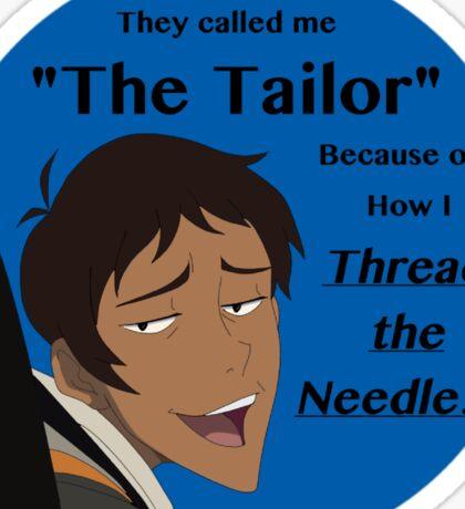 "Lance ""The Tailor"" Sticker"