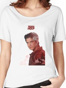 Scott McCall Double Exposure Women's Relaxed Fit T-Shirt