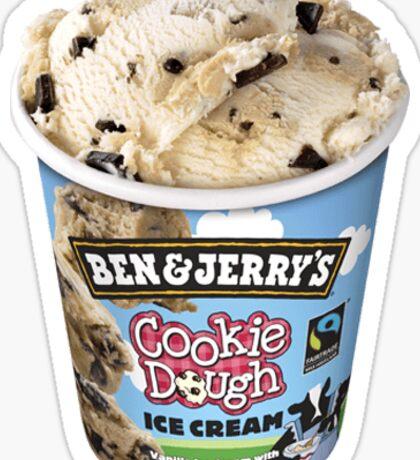 Cookie Dough Ice Cream Sticker