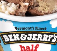Half Baked Ben and Jerry's  Sticker