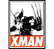Wolverine Xman Obey Design Photographic Print
