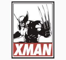 Wolverine Xman Obey Design Kids Clothes