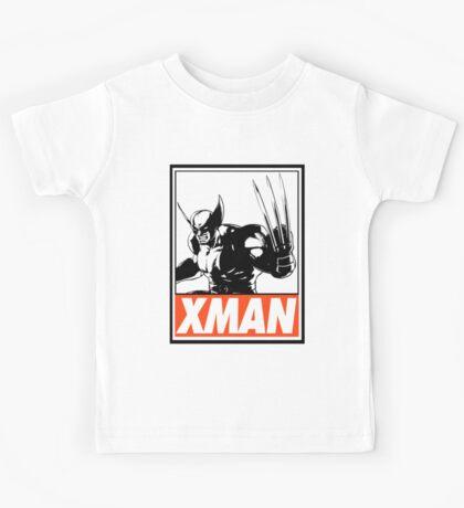 Wolverine Xman Obey Design Kids Tee