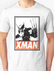 Wolverine Xman Obey Design Unisex T-Shirt