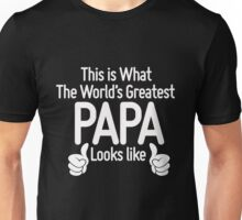 World's Greatest Papa Unisex T-Shirt