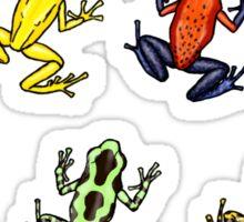 Dendrobates frog pattern Sticker