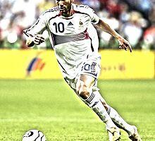 Zidane  by hyokim