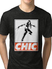X-23 Chic Obey Design Tri-blend T-Shirt
