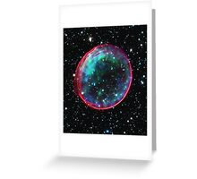 Bubble Supernova | Mathematix by Sir Douglas Fresh Greeting Card