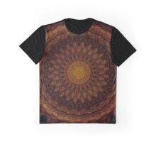 Mandala in warm brown tones Graphic T-Shirt