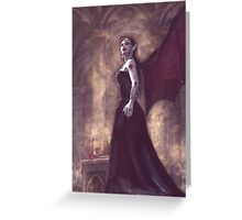 Dark Queen Greeting Card