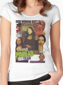 Odd Woman Out Women's Fitted Scoop T-Shirt