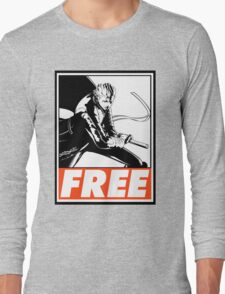Vergil Free Obey Design 2 Long Sleeve T-Shirt