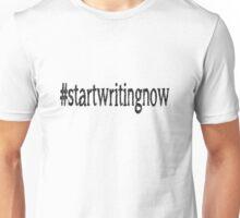 #startwritingnow (white) Unisex T-Shirt