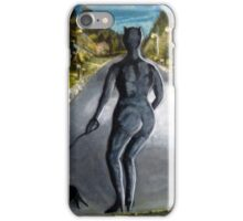 """""""Catwoman, retired"""" iPhone Case/Skin"""