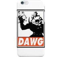 Dormammu Dawg Obey Design 2 iPhone Case/Skin
