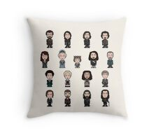 The Musketeers Cast (bag/pillow) Throw Pillow