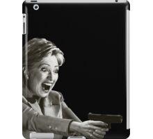 Hillary Master Blaster iPad Case/Skin
