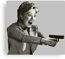 Hillary Master Blaster Canvas Print