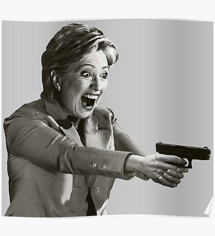 Hillary Master Blaster Poster