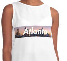 Atlanta Skyline Evening Contrast Tank