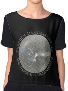 Labyrinth - Through Dangers Untold Chiffon Top