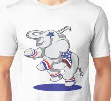 Patriotic Elephant  Unisex T-Shirt