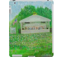 Rob Gamble's Sterling Stage Painting #1 iPad Case/Skin