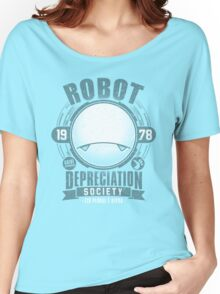 Robot Depreciation Society - Marvin the Paranoid Android Women's Relaxed Fit T-Shirt