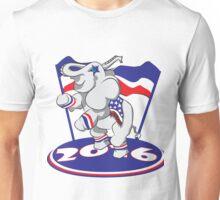 Patriotic Elephant - #3 Unisex T-Shirt