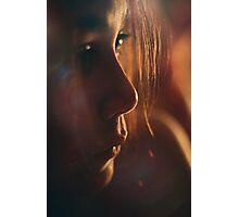 amber Photographic Print