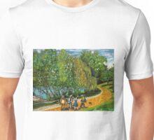 Greeenlake meets the yellow brick road Unisex T-Shirt