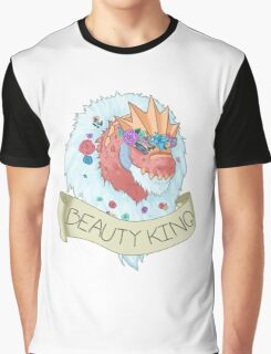 Flower Crown Tyrantrum - Beauty King Graphic T-Shirt