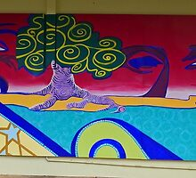 Mural, Grafton, New South Wales, Australia (panorama) by Margaret  Hyde