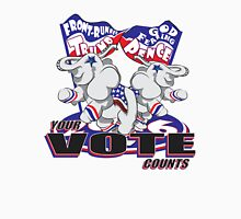 Your Vote Counts - With Patriotic Elephant Unisex T-Shirt