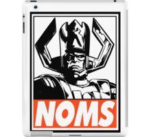 Galactus Noms Obey Design iPad Case/Skin
