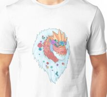 Flower Crown Tyrantrum Unisex T-Shirt