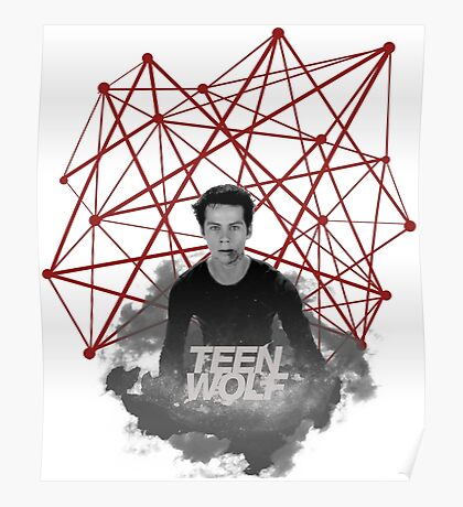 Stiles Stilinski Connected Lines Poster