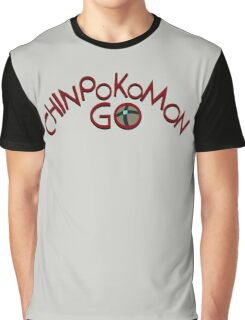 Chinpokomon GO! Graphic T-Shirt