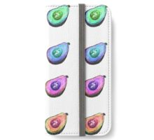 Rainbow Avocados iPhone Wallet/Case/Skin