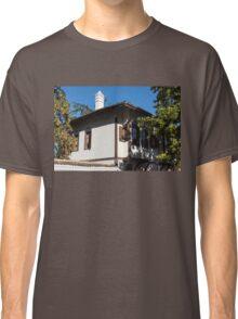 The White Chimney - Sun Dappled Elegant Revival House Classic T-Shirt