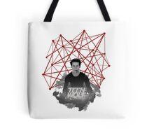 Stiles Stilinski Connected Lines Tote Bag