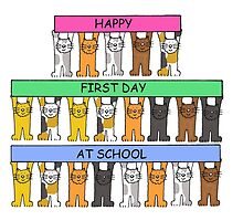 Happy First Day at School by KateTaylor